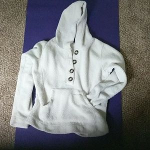 Avalanche hoodie with pockets and buttons